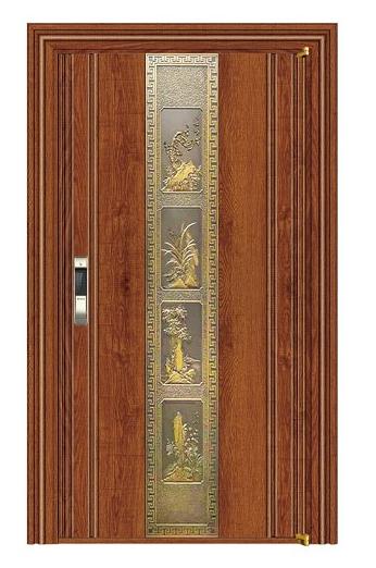 艺和门业792-8实木锯齿黄橡单系列