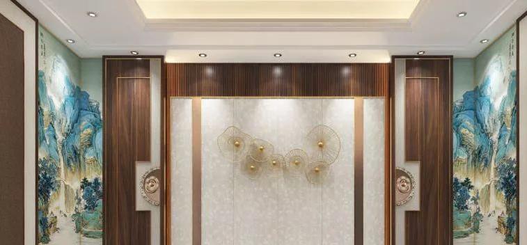 汇星品集成墙面加盟产品 新中式风格系列