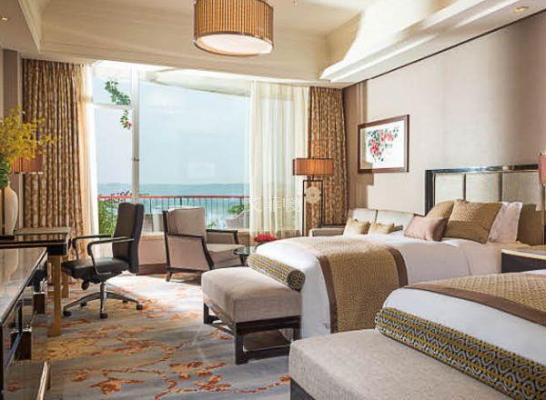 酒店窗帘搭配要素 五星级酒店用的都是这种窗帘
