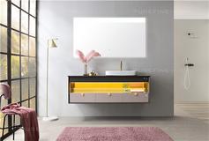 评测|普瑞凡眼界浴室柜,温柔配色,知性生活